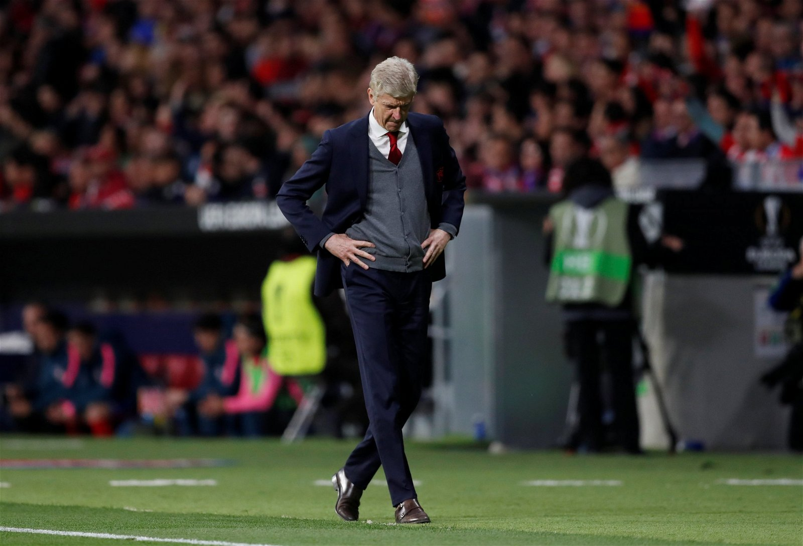 Arsene Wenger - Atletico Madrid vs Arsenal
