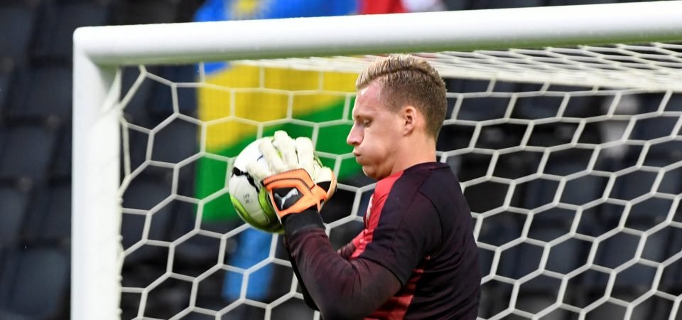 Arsenal fans elevated by news that Bernd Leno will start on Thursday