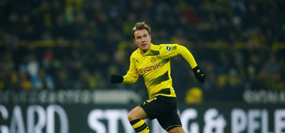 Revealed: 80% of Newcastle fans would be delighted to sign Gotze
