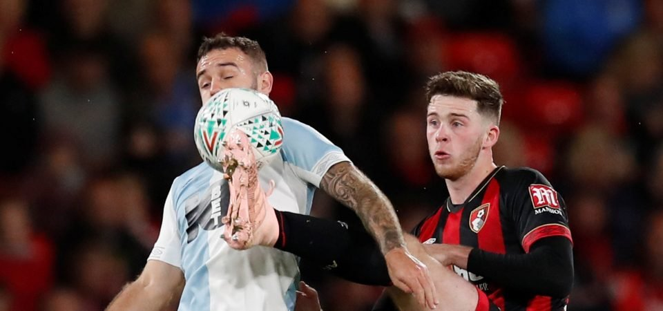Simpson flattered by Rangers interest but focused on Bournemouth