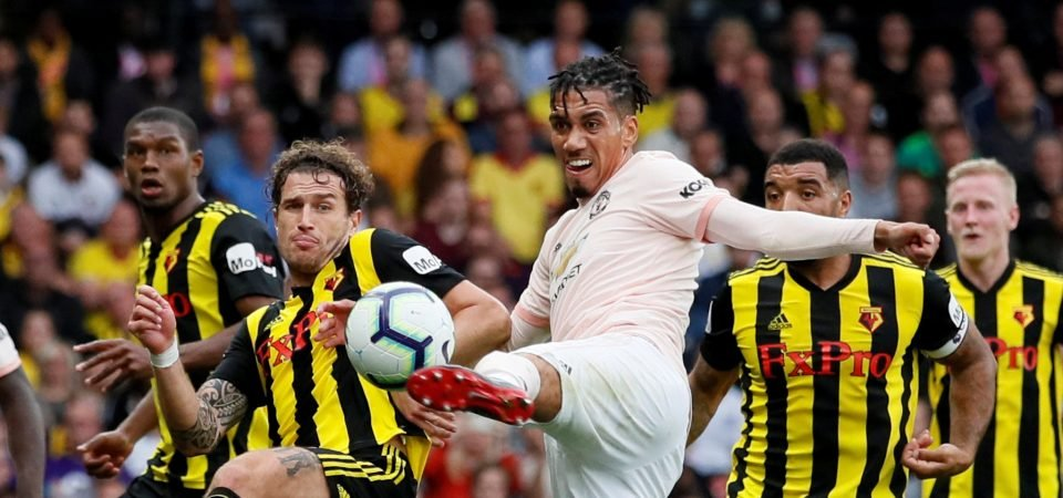 Manchester United fans stunned by Smalling display vs Watford