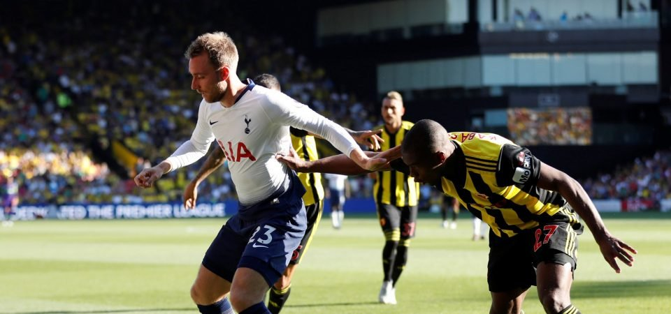Christian Eriksen is ready to bring the Spurs fight to big spending Liverpool