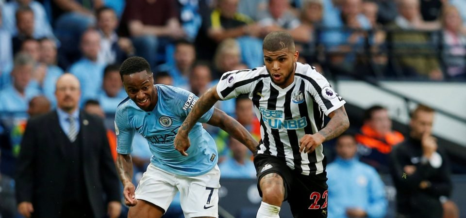 Newcastle fans in high spirits despite loss to Manchester City