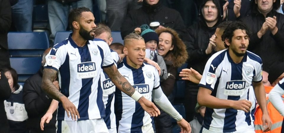West Brom fans on Twitter are loving Dwight Gayle after his fifth league goal