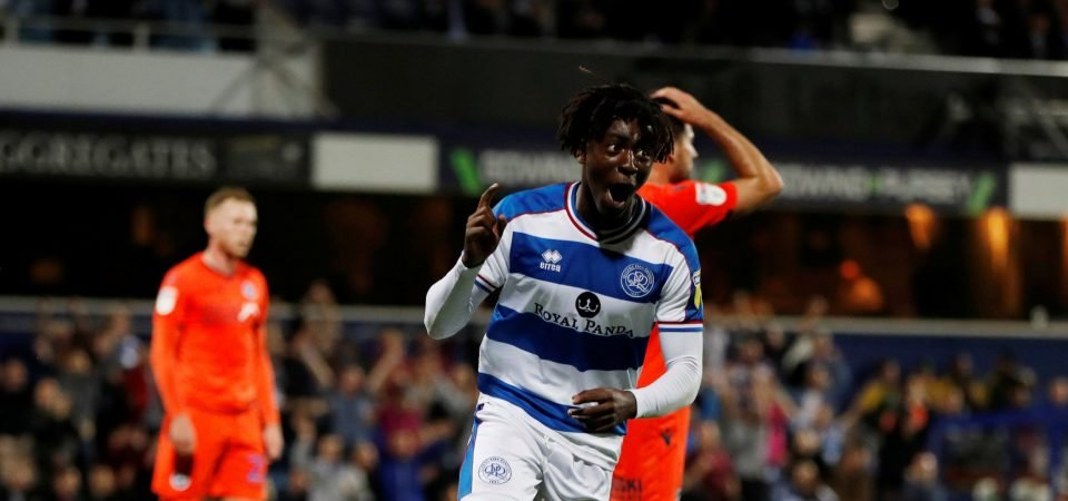 QPR fans react as Britton is impressed by Eberechi Eze