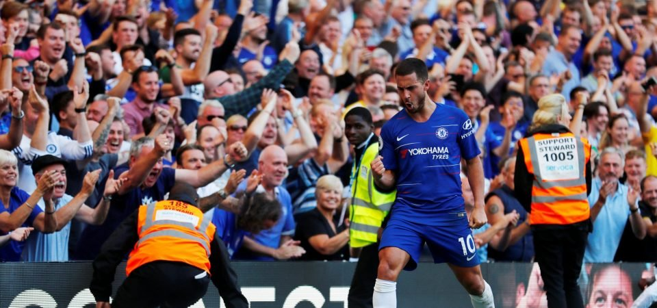 Chelsea fans react as Eden Hazard becomes club's 10th all-time leading goalscorer