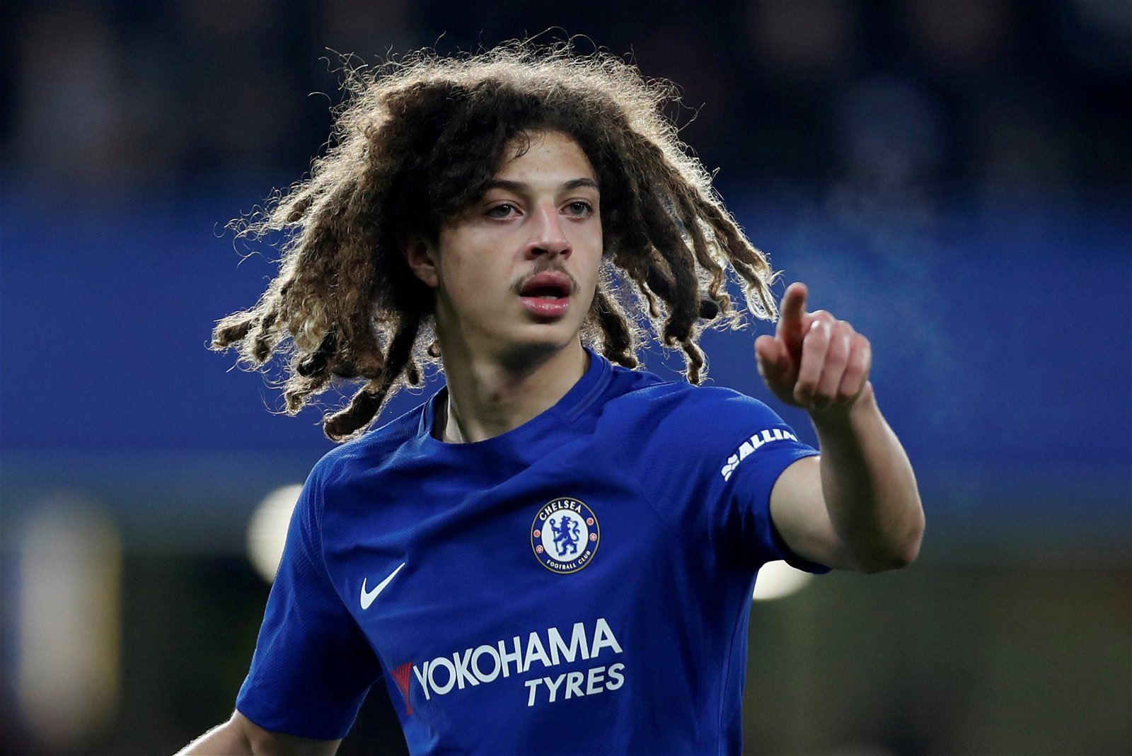 Ethan Ampadu in action against Hull City