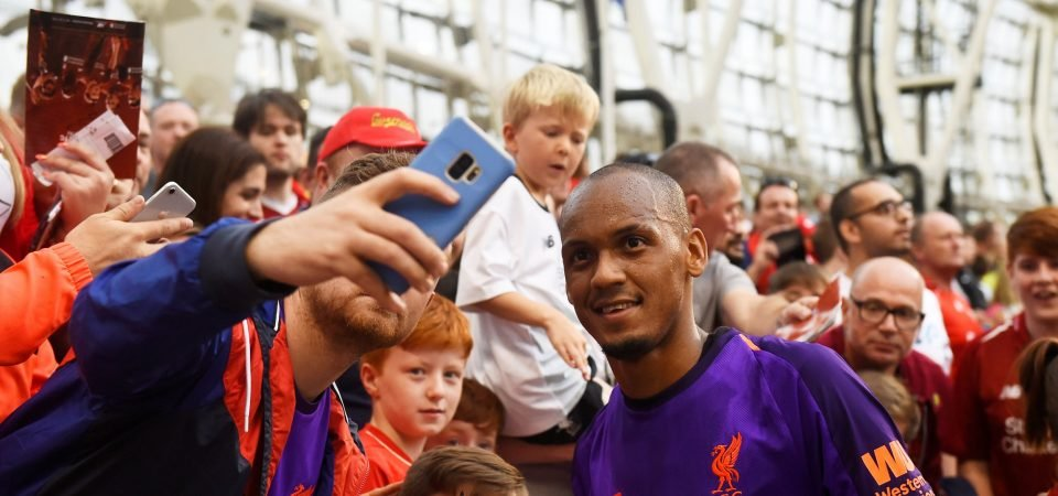 Fabinho plays at right-back in Brazil friendly, Liverpool fans react