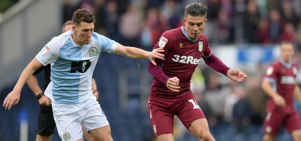 Aston Villa fans slate Grealish for his performance vs Blackburn