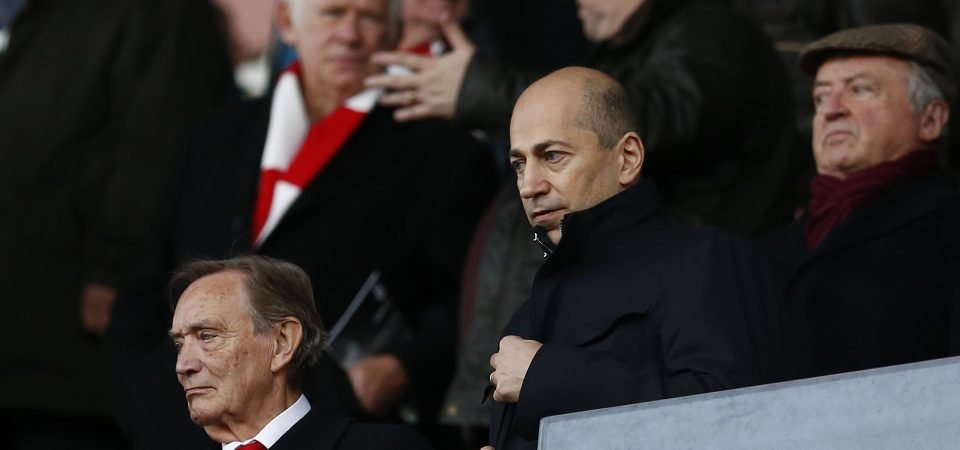 Revealed: 86% of Arsenal fans won't miss Ivan Gazidis at all