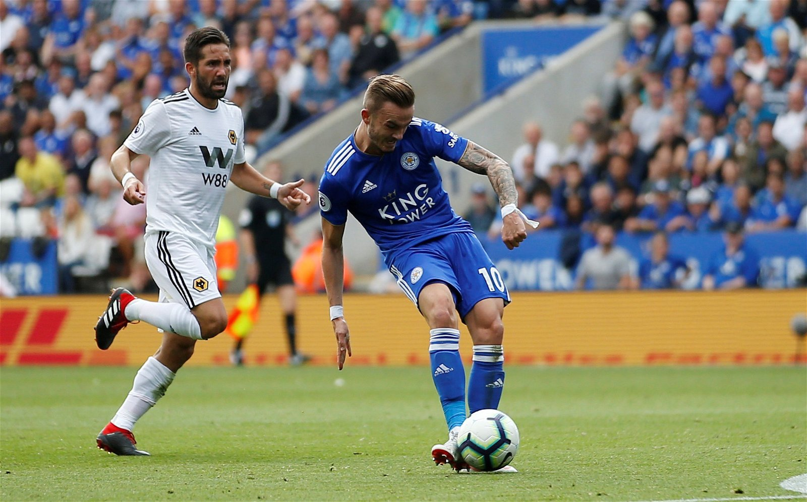 James Maddison vs Wolves