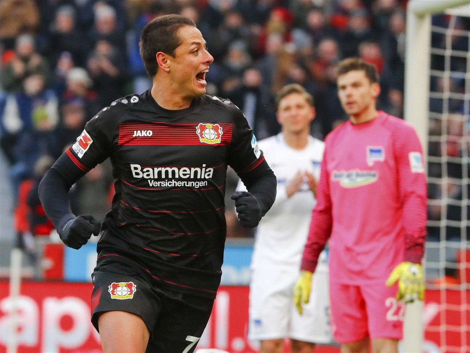 Javier Hernandez at Bayer Leverkusen