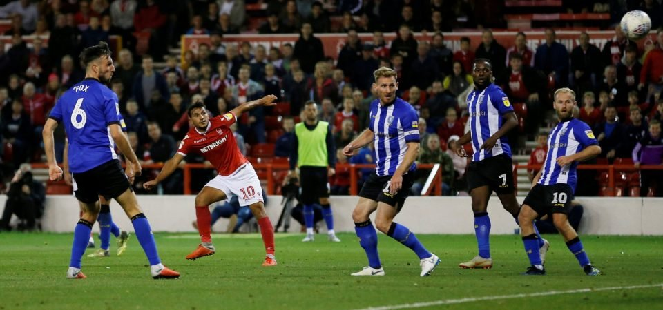 Nottingham Forest fans loved Joao Carvalho's first goal for club against Sheffield Wednesday