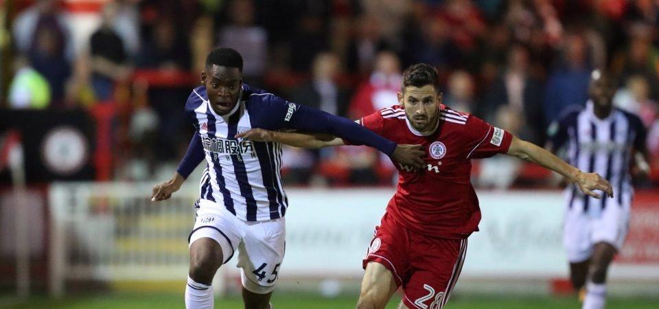 Revealed: 88% of West Brom fans want Jonathan Leko to start vs Crystal Palace