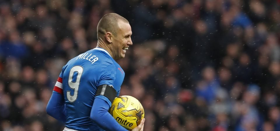 Steven Gerrard wants to see a warm Ibrox reception for the returning Kenny Miller