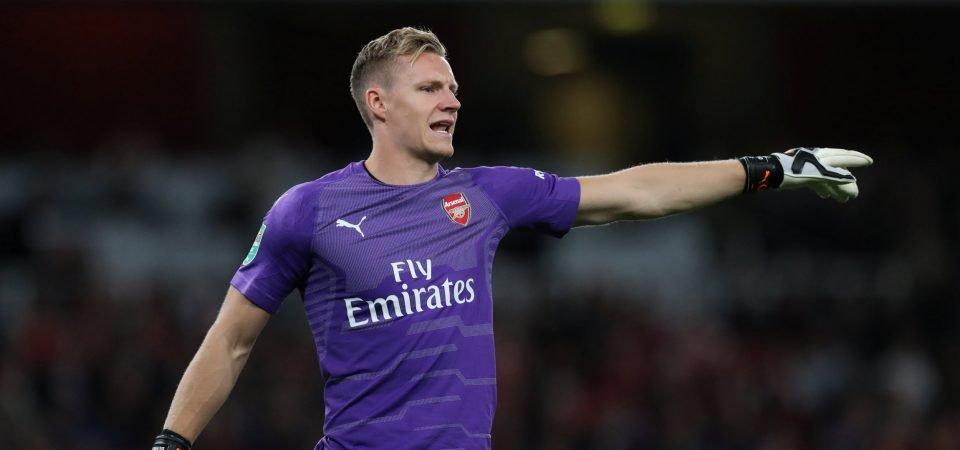 Arsenal fans react to Leno's second start for the club