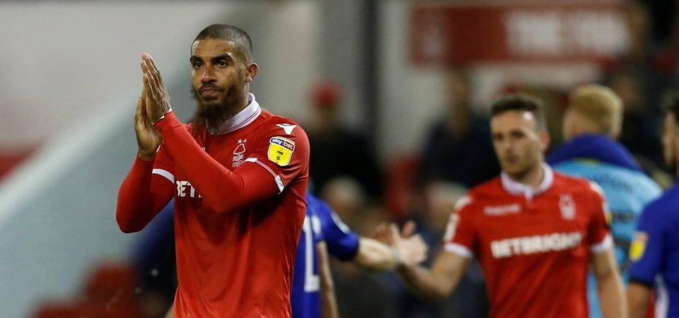 Forest fans were delighted as Lewis Grabban finally scored his first goal for the club