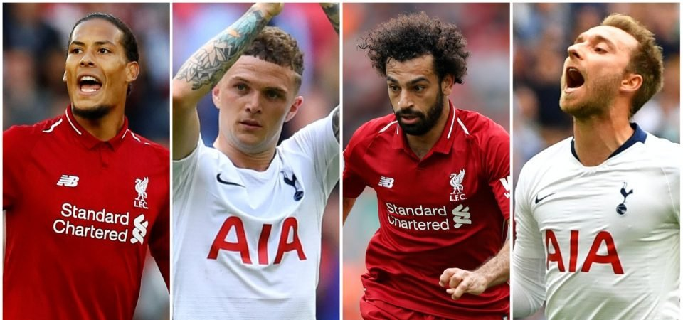 Revealed: The ultimate Tottenham-Liverpool combined XI as voted for by FFC readers