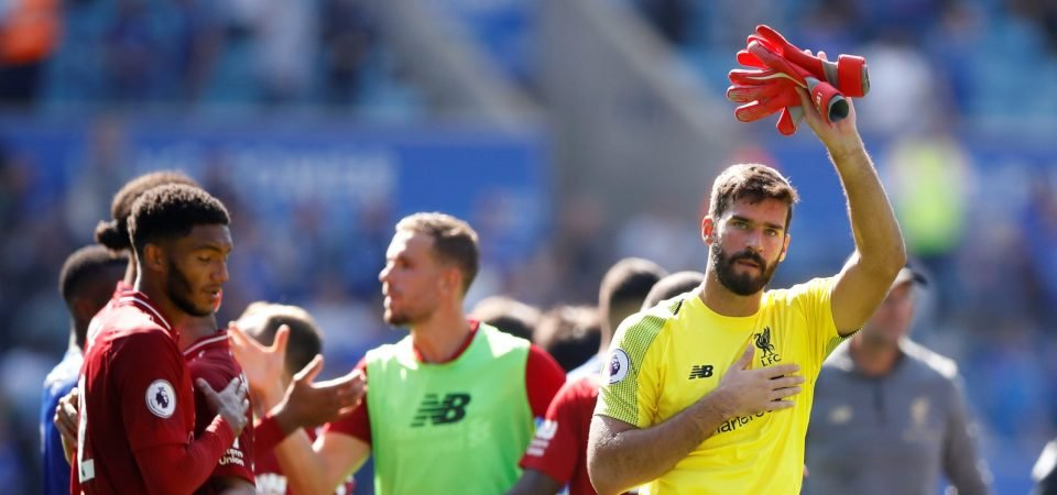 The Word: Liverpool fans should be thankful for Alisson's confidence after Leicester mistake