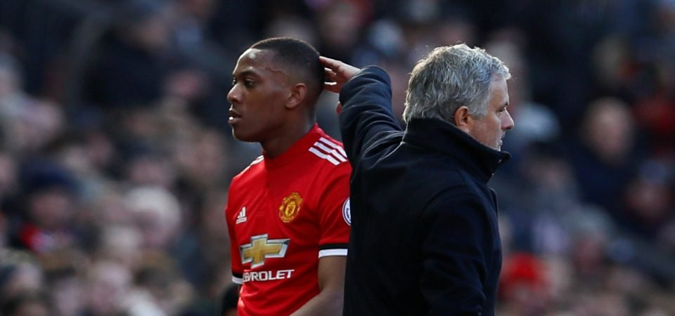 Revealed: 81% of Manchester United fans call on Mourinho to start Martial