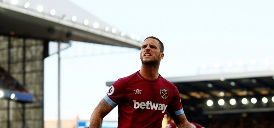 West Ham fans on Twitter loved Marko Arnautovic's goal and performance vs Everton