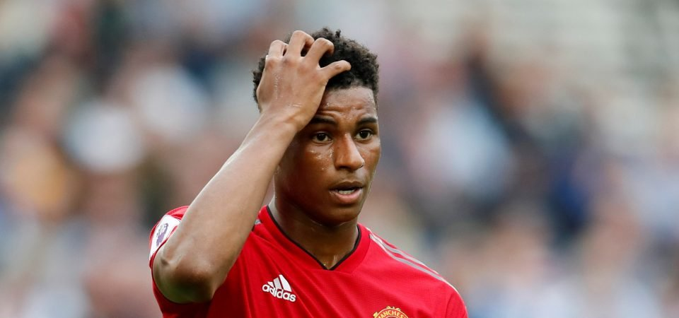 Manchester United fans reject Jamie Carragher's comments on Marcus Rashford