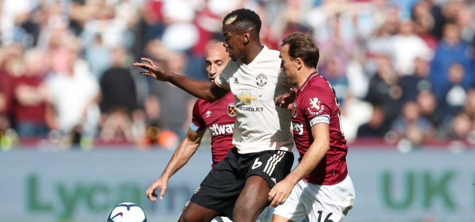 Manchester United fans want Pogba out after West Ham display