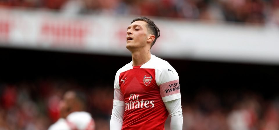 Emery urges Mesut Ozil to improve Arsenal performances