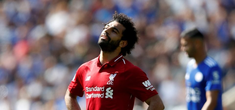 Mohamed Salah's recent form is a worrying sight for Liverpool fans