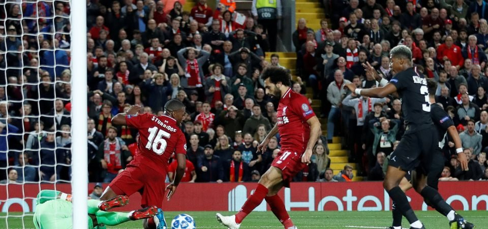 Liverpool fans discuss Salah's controversial moment following Firmino's winner against PSG