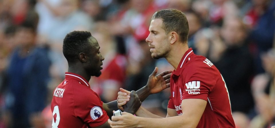 HYS: Should Keita be first choice ahead of Henderson at Liverpool?