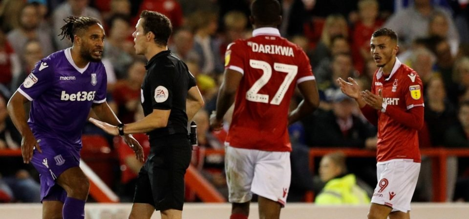 Nottingham Forest fans can't agree on the Diogo Goncalves red card decision