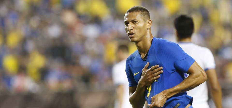 Revealed: Majority of Everton fans want Richarlison to play up front