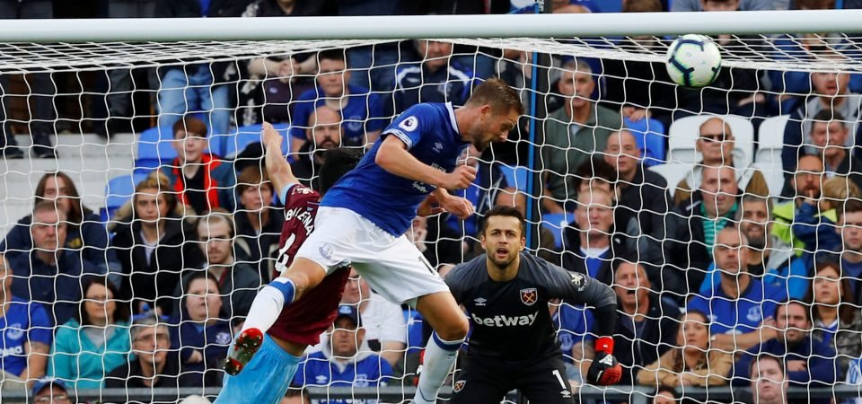 Everton fans on Twitter loved Sigurdsson's header in the loss to West Ham