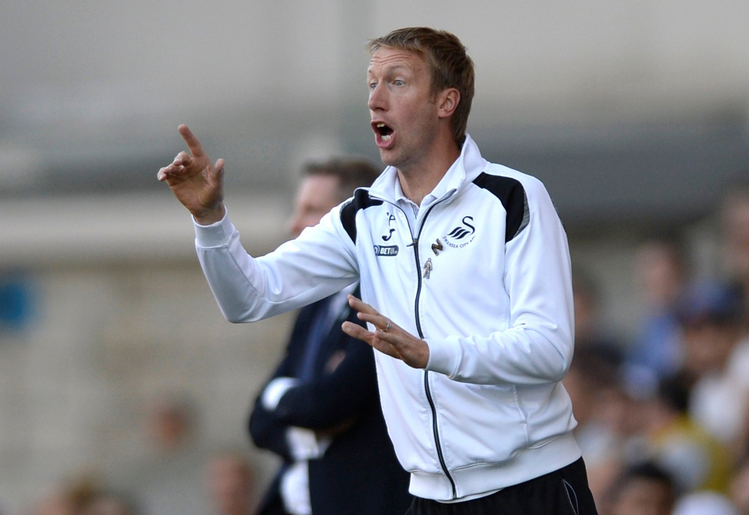 Swansea manager Graham Potter