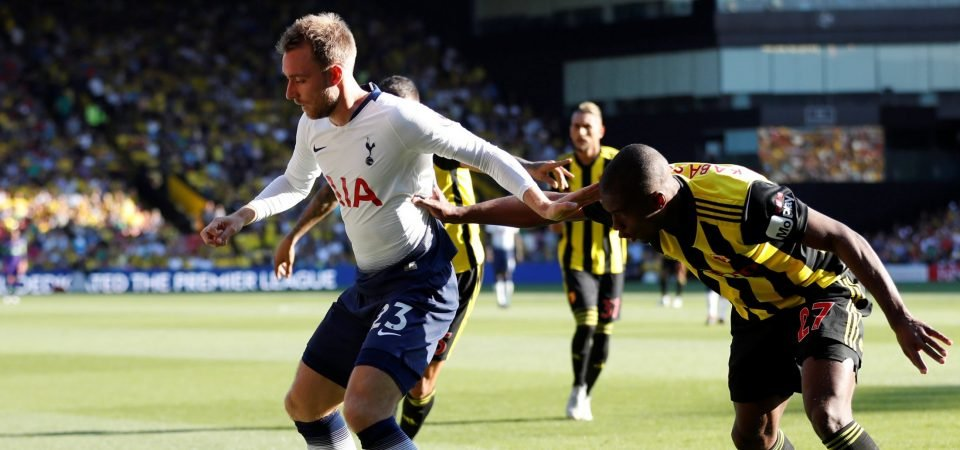 Christian Eriksen missing Denmark game is a blessing in disguise for Tottenham
