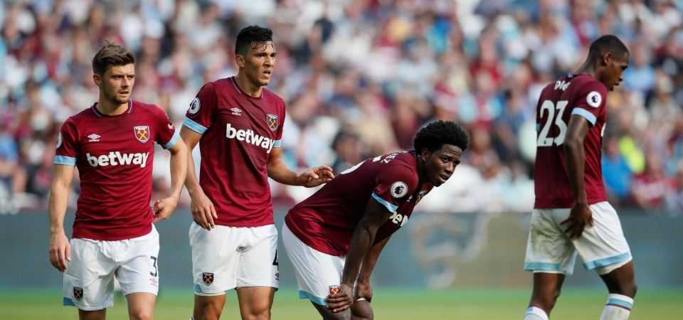 West Ham fans unhappy with club's Twitter post