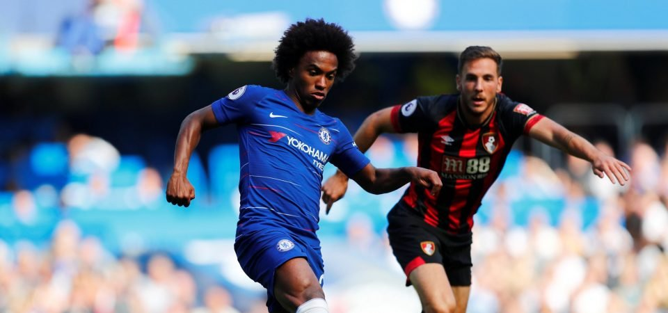 Willian admits he never wanted to leave Chelsea, fans react