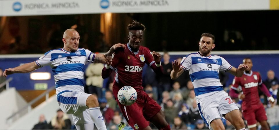 Queens Park Rangers fans hail Angel Rangel following goalscoring performance