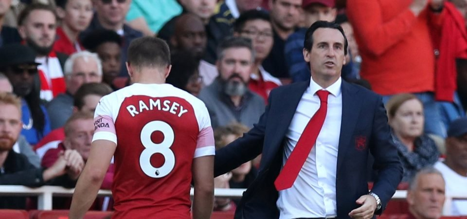 Arsenal fans react as Ramsey's agent breaks silence on contract saga
