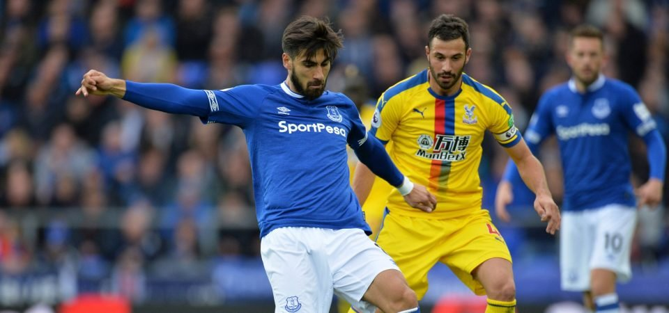 Andre Gomes makes long-awaited debut, Everton fans react