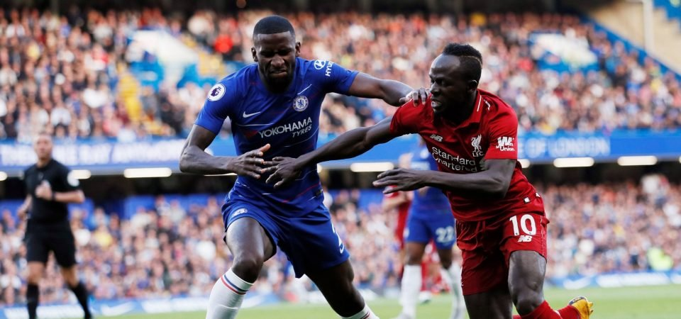 Rudiger proves just how important he will be to Sarri with dominant display vs Liverpool