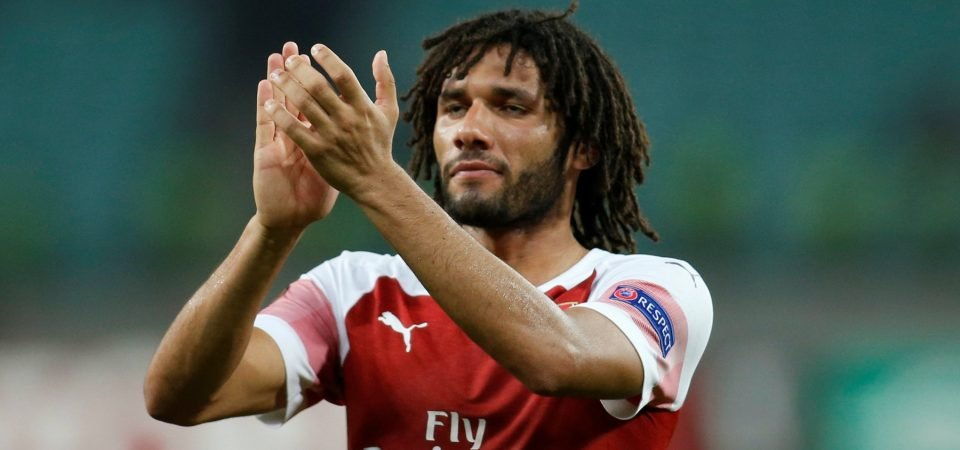 Arsenal fans react as Mohamed Elneny linked with Emirates exit