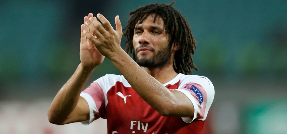 Arsenal fans slate Elneny's performance against Qarabag