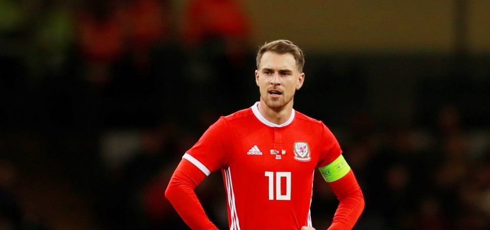 Fans assess performance of Arsenal's Aaron Ramsey for Wales