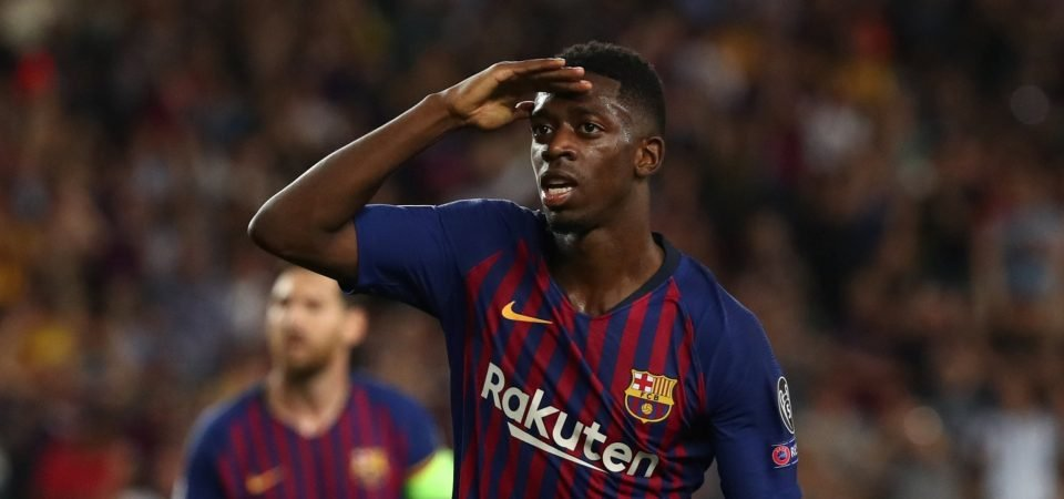 Ousmane Dembele appears to be turning a corner in his development at Barcelona