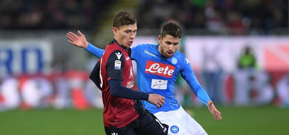 Tottenham fans have mixed reaction to Barella reports
