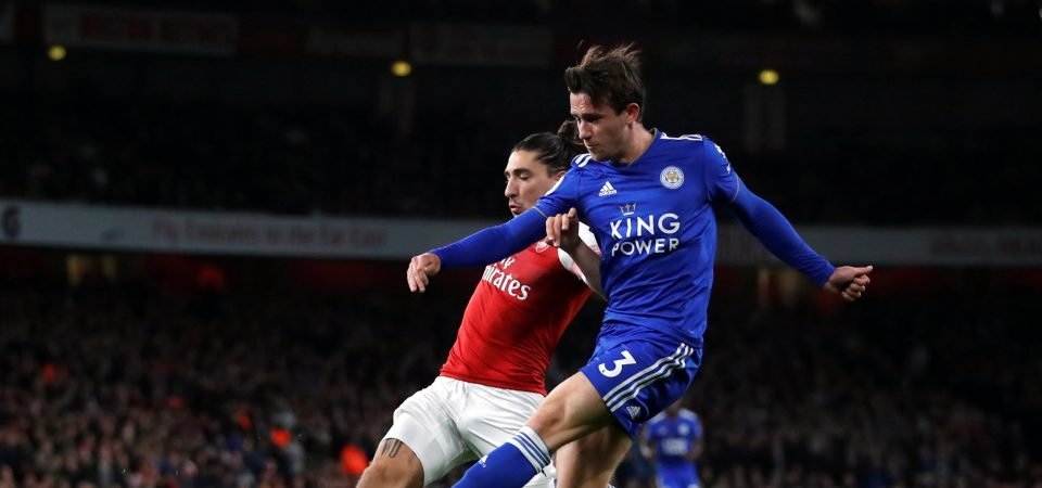 Liverpool fans impressed by Chilwell's display against Arsenal
