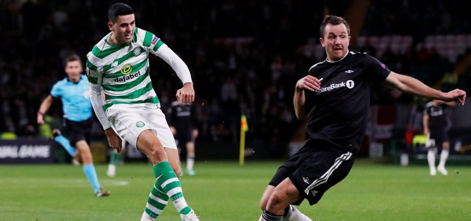 Celtic fans stunned by Rogic's form