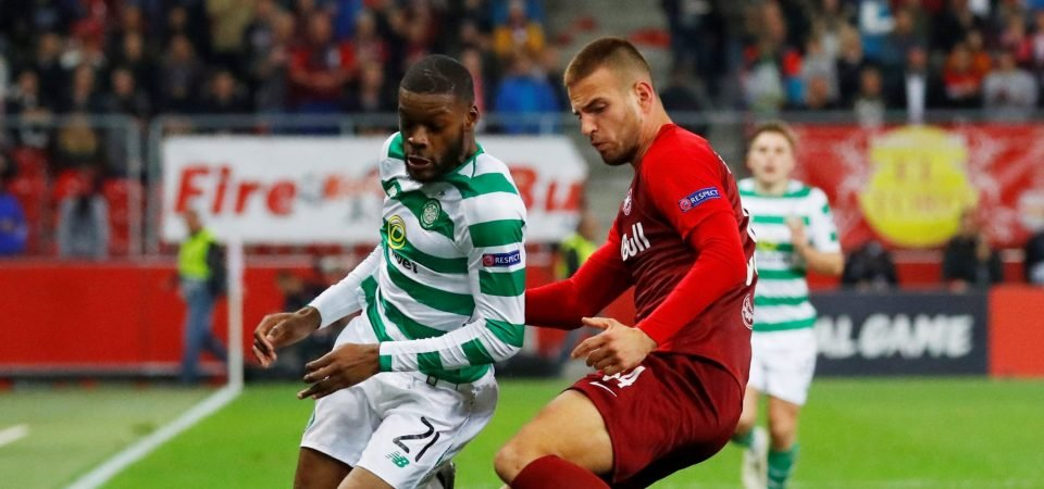 Celtic fans unimpressed with Olivier Ntcham against Salzburg